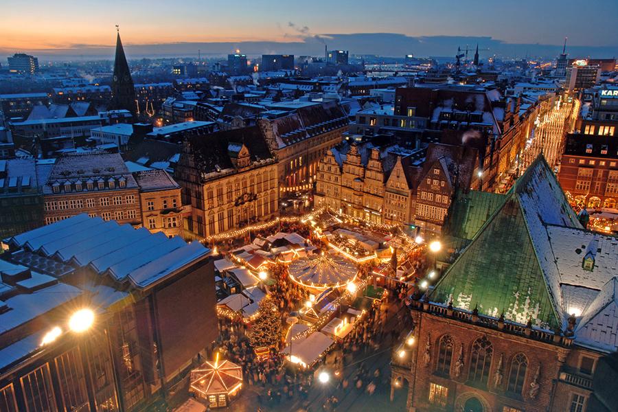 Bremer Weihnachtsmarkt beginnt am 27. November