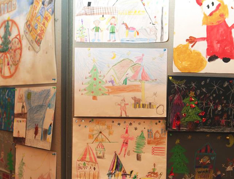 Kinder malen den Bremer Weihnachtsmarkt – Malwettbewerb mit tollen Gewinnen