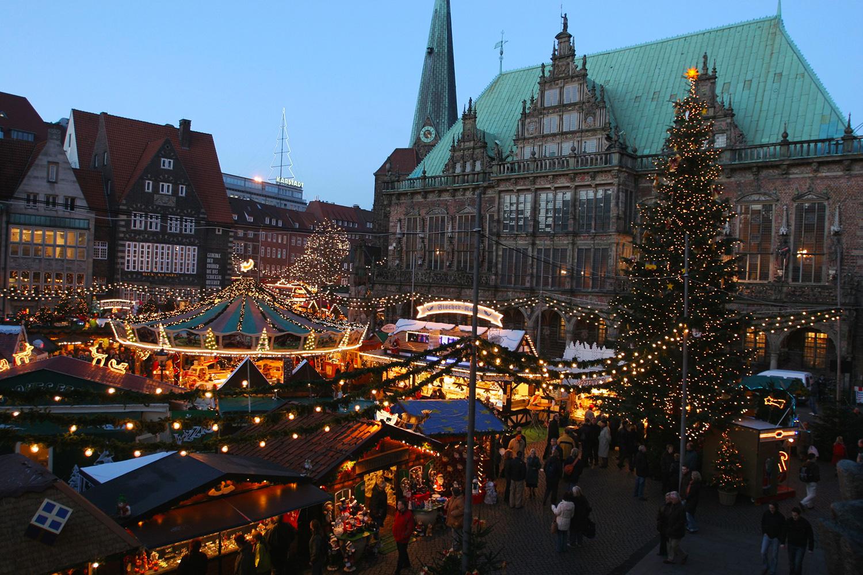 Bremer Weihnachtsmarkt beginnt am 25. November